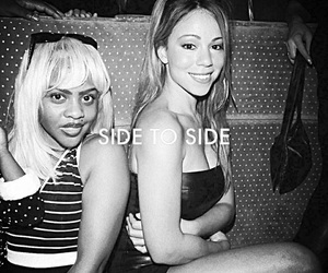 Lil Kim and Mariah Carey image