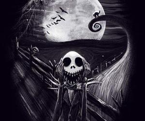 tim burton, Halloween, and jack image