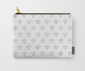 bag, diamonds, and gems image