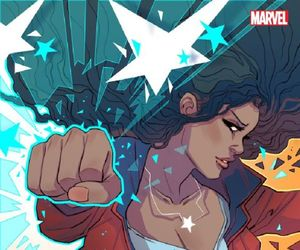 Marvel, Miss America, and young avengers image