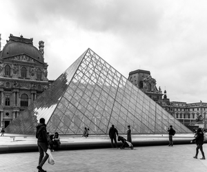 louvre, france, and paris image