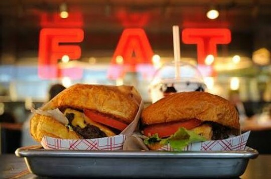 fat, love, and food image