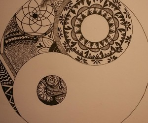 art, drawing, and patterns image