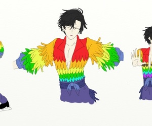 crossover, yuri on ice, and mystic messenger image