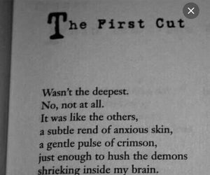 cuts and demons image
