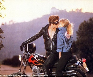 gorgeous, michelle pfeiffer, and motorcycle image