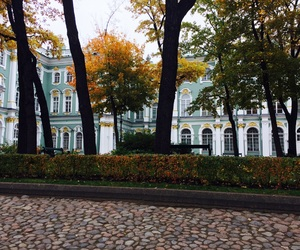 autumn, hermitage, and museum image