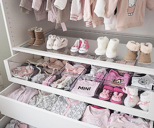 baby, pink, and clothes image