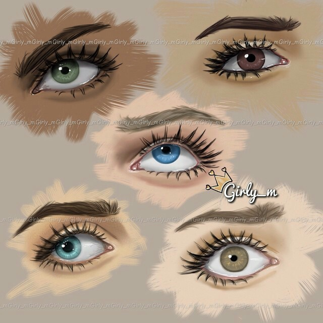 Image about eyes in 💖💅💄👒💞 by ro on We Heart It