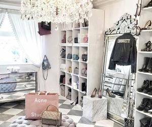 closet and house image