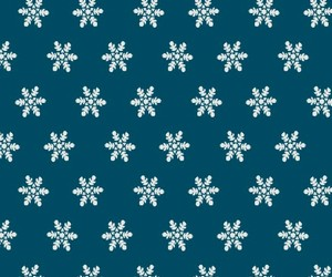 pattern, snow, and christmas is coming image