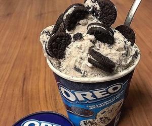 food, oreo, and ice cream image