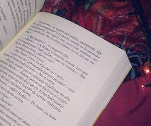 blanket, book, and fall image