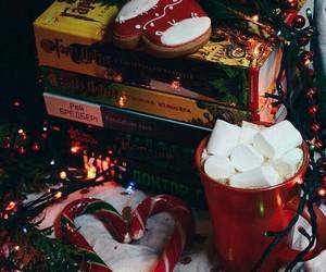 books, christmas, and merry christmas image