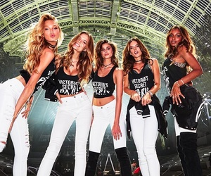model, Victoria's Secret, and angels image