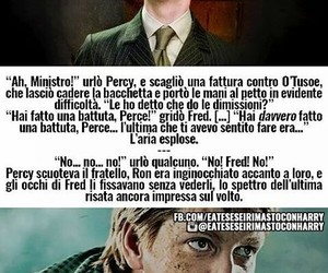 harry potter, fred weasley, and mangiamorte image