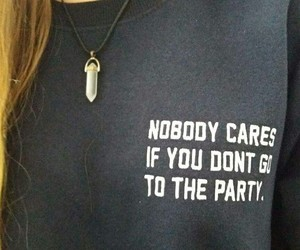 girl, nobody, and party image