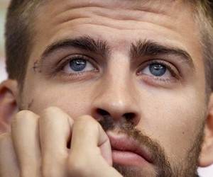 gerard piqué, blue eyes, and eyes image
