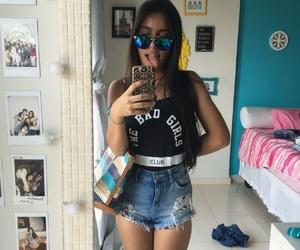 bad girl, bedroom, and boobs image