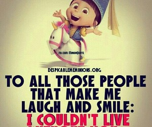 minions, funny, and funny quotes image