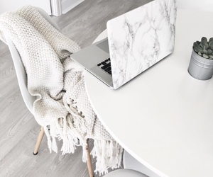 white, home, and decor image