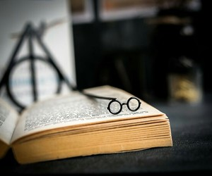 bookmark, books, and harry potter image