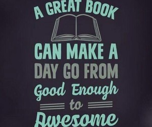 awesome, books, and day image