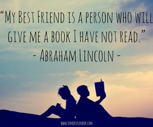 best friend, books, and read image