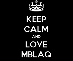mir, mblaq, and thunder image