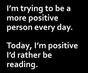 books, positive, and read image