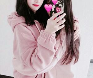 asian, korean girls, and pale image