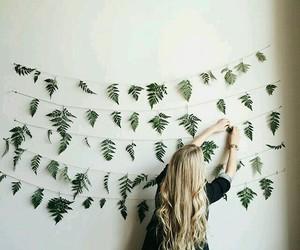 girl, decor, and hair image