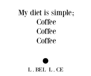 coffee, diet, and inspo image