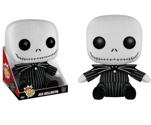 the nightmare before christmas, collectables, and jack jumbo pop! plush image