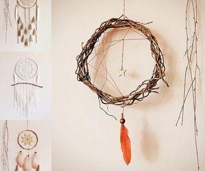 handmade, room decor, and boho bedroom image