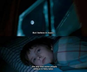 music, quotes, and august rush image