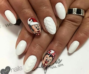 girl, nails, and cute image