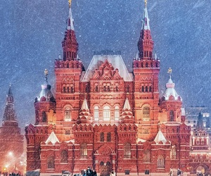 beautiful, moscow, and russia image