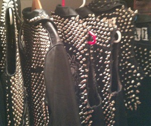 jacket, fashion, and spikes image