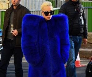 blue, fashion, and Lady gaga image