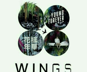 wallpaper, wings, and bts image