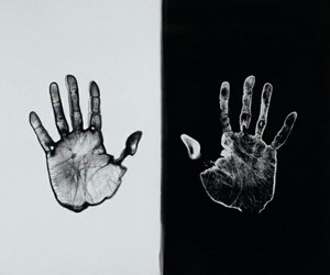 hands, art, and theme image