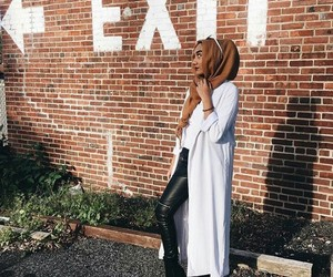 hijab, outfits, and style image