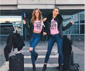 model, Adriana Lima, and josephine skriver image