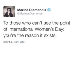 woman, feminism, and quotes image