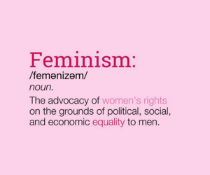 feminism and pink image