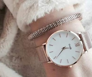 watch, girl, and accessories image
