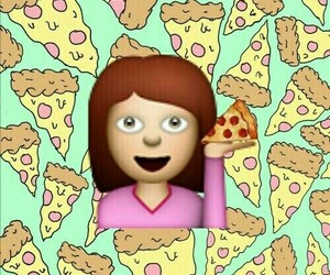 pizza and emojis image
