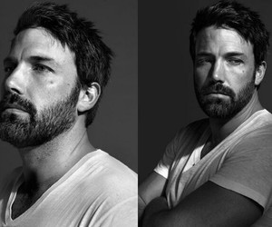 Ben Affleck, black and white, and boys image