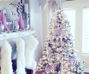 chic, christmas, and december image